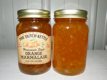 Load image into Gallery viewer, Dutch Kettle All Natural Homemade Orange Marmalade Jam 19 oz Jar