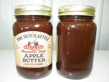 Load image into Gallery viewer, Dutch Kettle All Natural Homemade Apple Butter 19 oz Jar