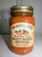 Load image into Gallery viewer, Dutch Kettle All Natural Homemade Sweet Potato Butter 19 oz Jar
