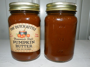 Dutch Kettle All Natural Homemade Pumpkin Butter 19 oz Jar