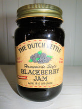 Load image into Gallery viewer, Dutch Kettle All Natural Homemade Blackberry Seedless Jam 19 oz Jar
