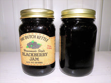 Load image into Gallery viewer, Dutch Kettle All Natural Homemade Blackberry Seeded Jam 19 oz Jar