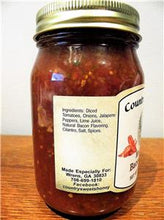 Load image into Gallery viewer, Country Sweets Medium Bacon Salsa 16 oz Jar