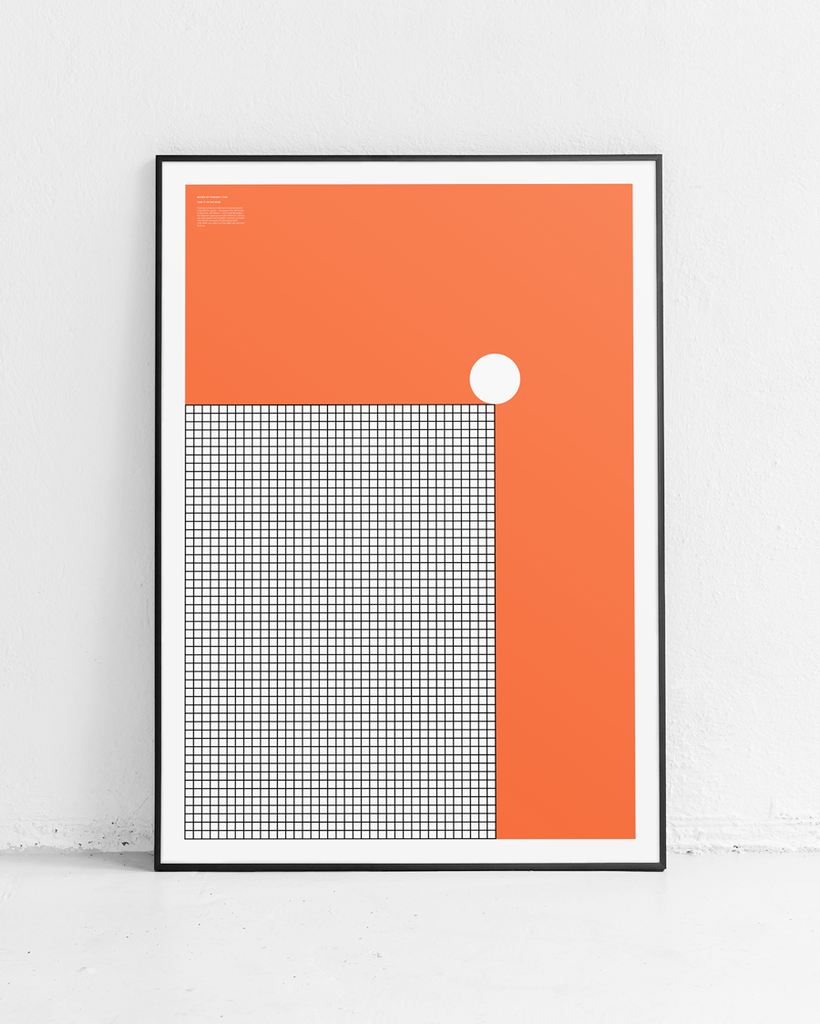 MODES OF THOUGHT 003 // TAKE IT TO THE EDGE - ORANGE GRID