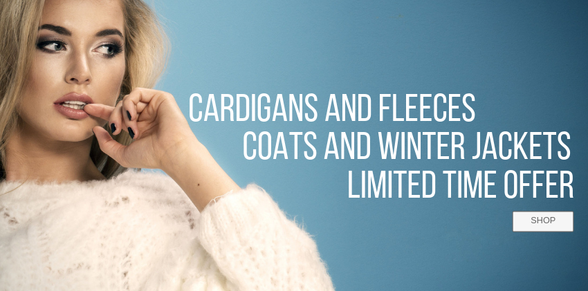 cardigans and fleeces limited time sale