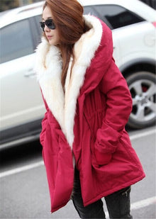 Solid Color Parka