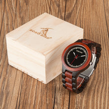 Wooden Wristwatch Gift Box