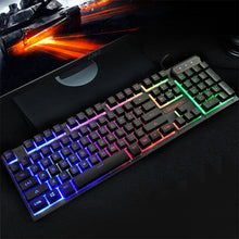 Rainbow Wired Gaming Keyboard