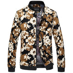 Autumn Floral Jacket Mens