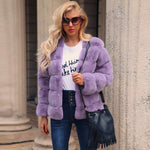 Autumn Faux Fur Coat