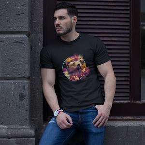 Smoking Bear  T-Shirt