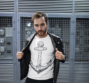 White Anchor T-Shirt
