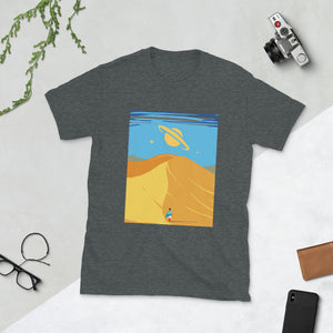 Man in a dessert T-Shirt