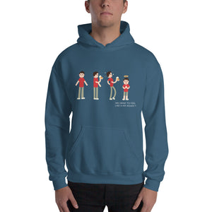 Why we drink Hoodie Sweatshirt