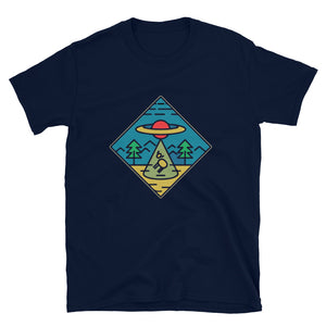 Alien triangle T-Shirt