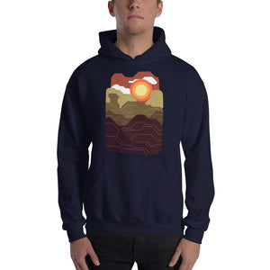 Natural Abstract Hoodie