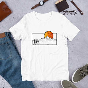 Nature and Mountain T-Shirt