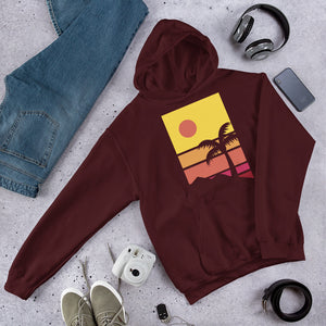 Beach Hooded Sweatshirt