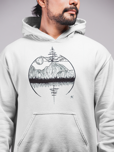Natural Arrow Hoodie