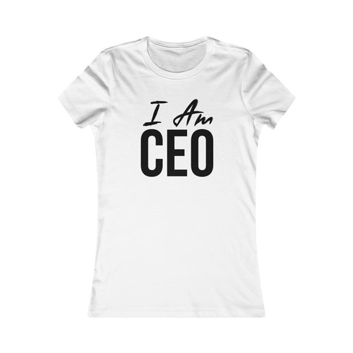 Woman I AM CEO Tee - Peyticakes