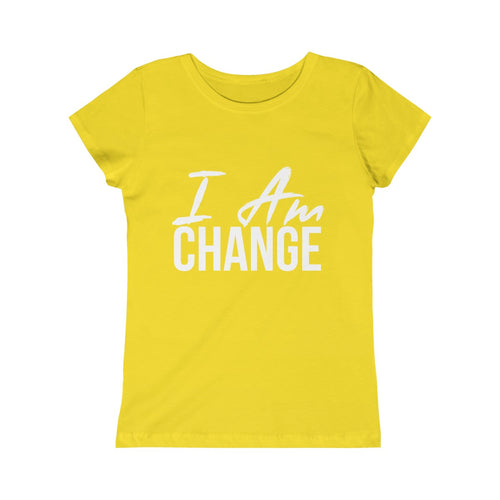 Girls I AM CHANGE Tee - Peyticakes