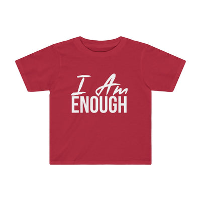 Toddler I AM ENOUGH Tee - Peyticakes
