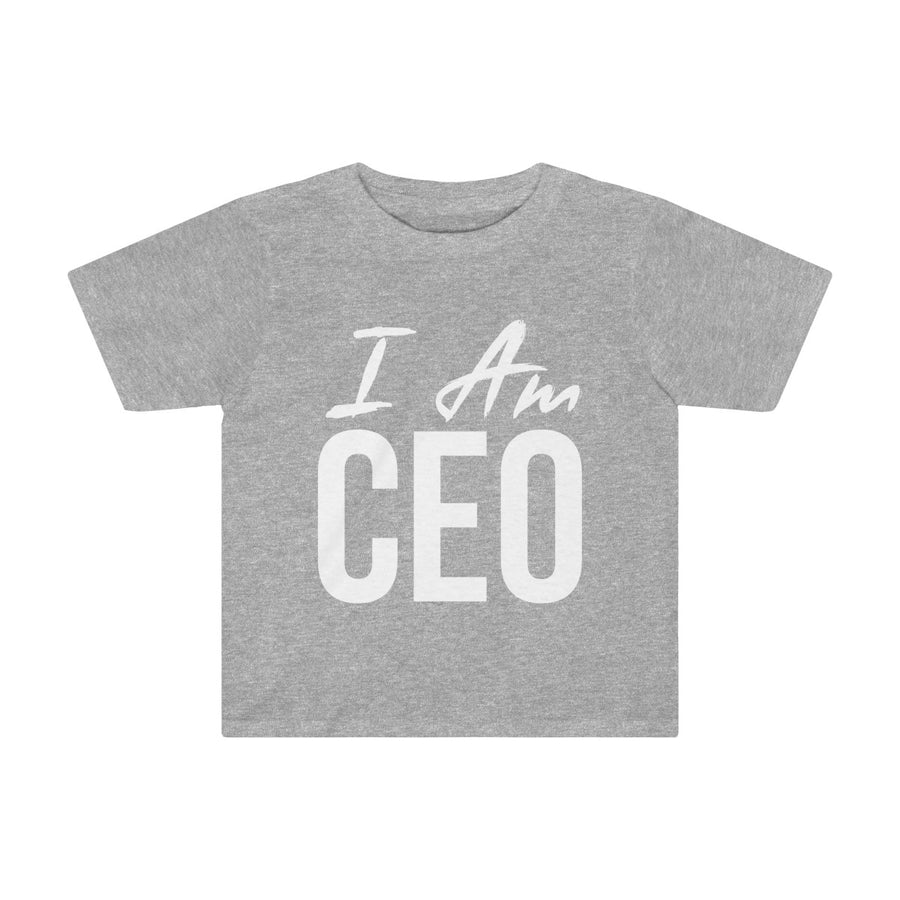Toddler I AM CEO Tee
