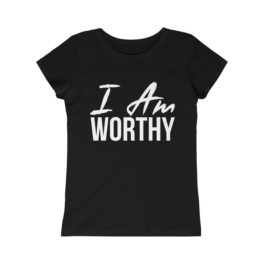 Girls I AM Worthy Tee