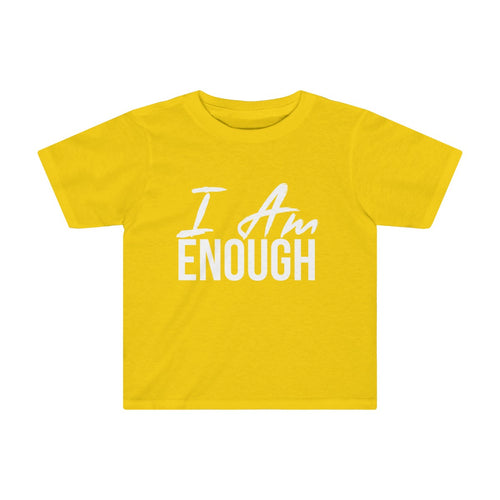 Toddler I AM ENOUGH Tee