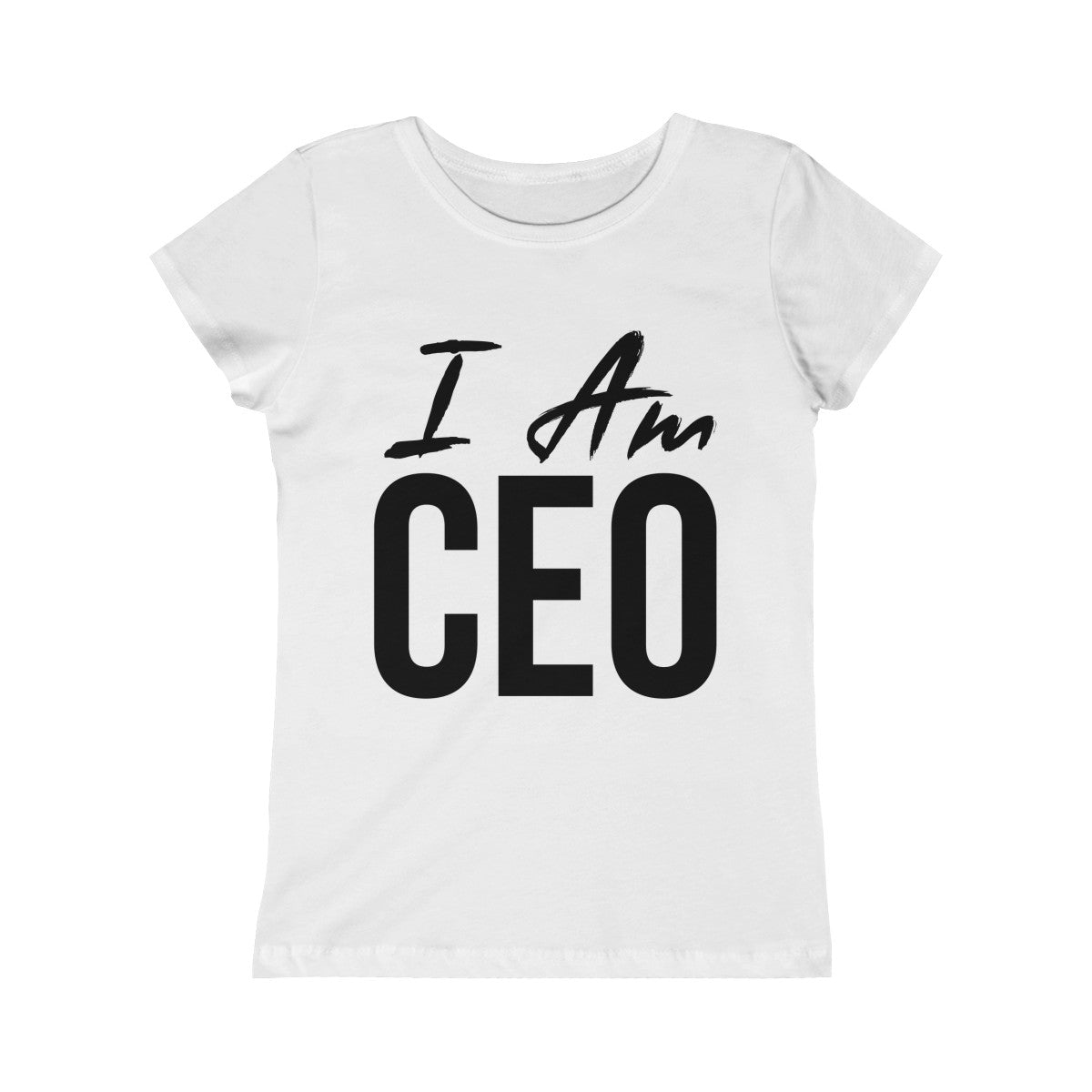 Girls  I AM CEO Tee - Peyticakes