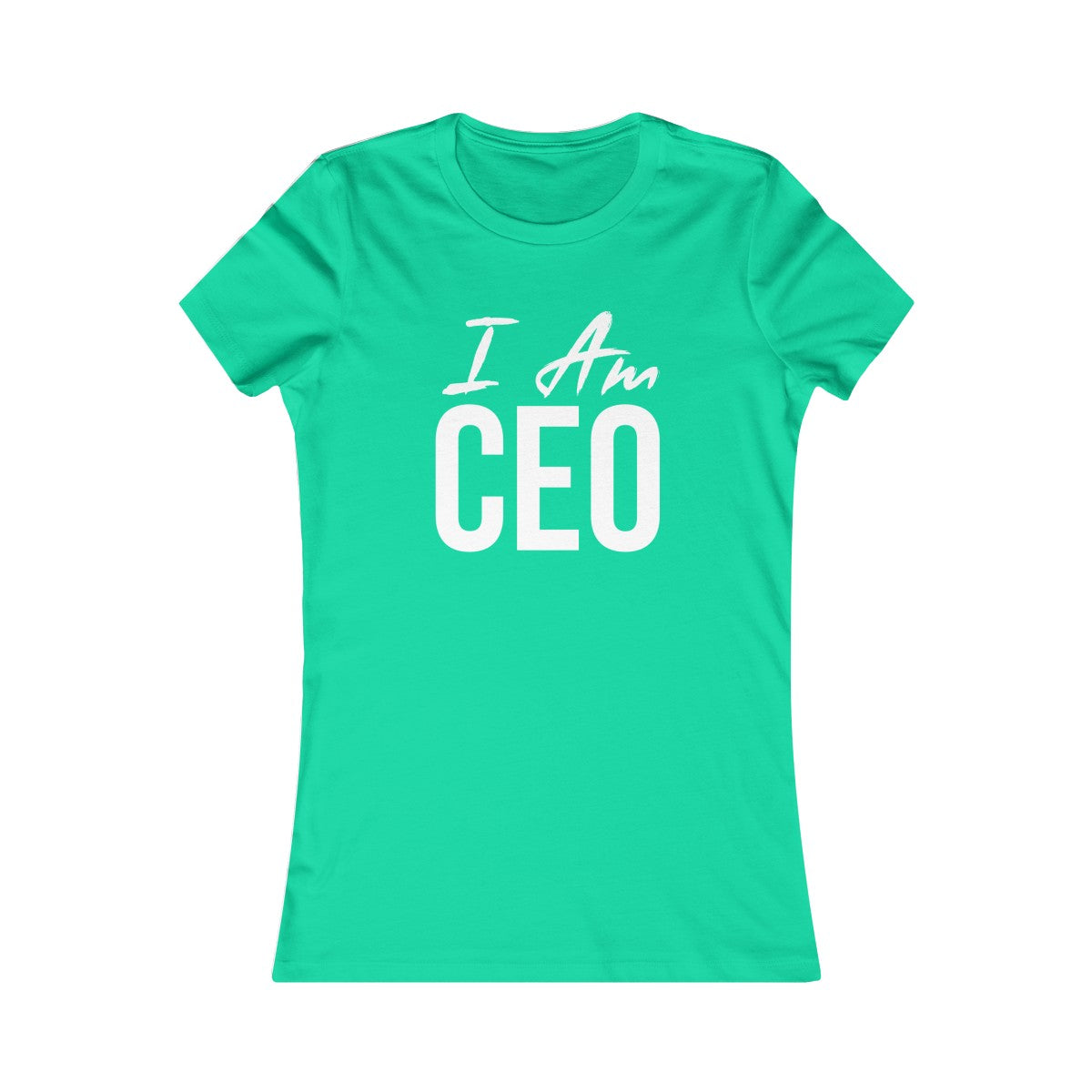 Women's I AM CEO Tee - Peyticakes