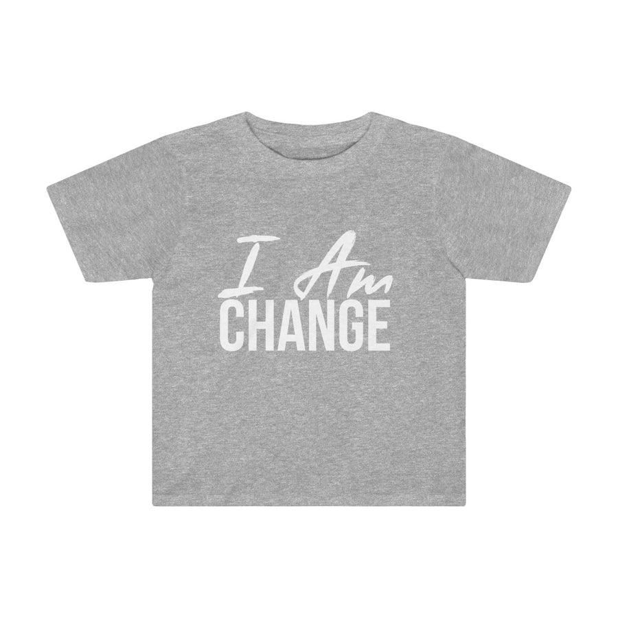 Toddler I AM CHANGE Tee
