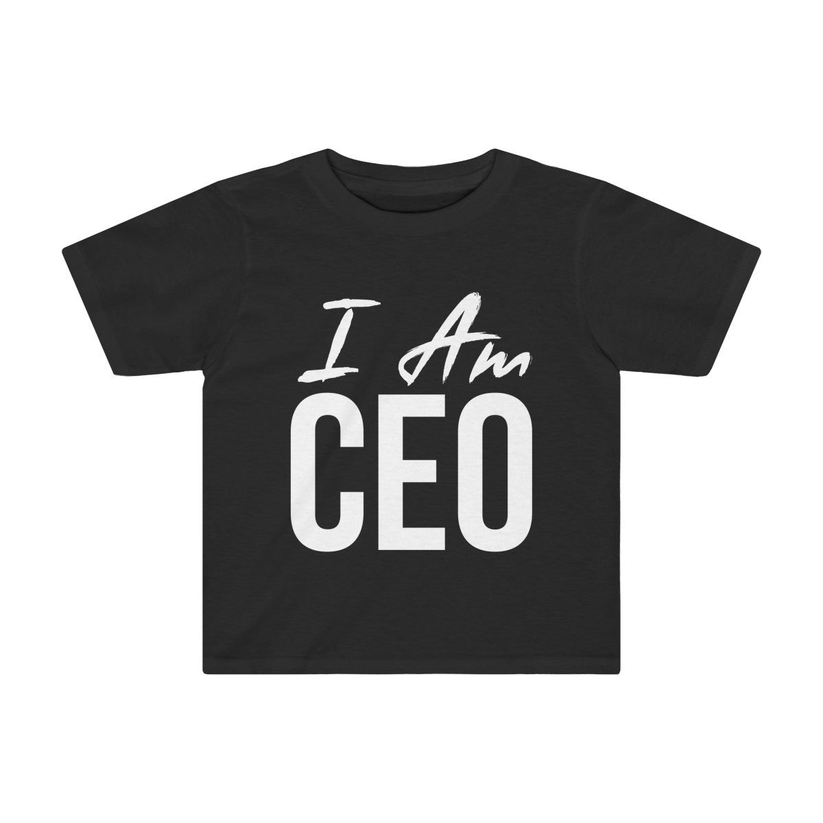Toddler I AM CEO Tee - Peyticakes