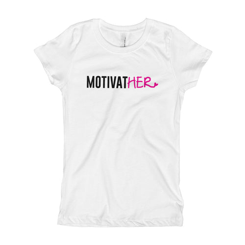 Girl's MotivatHER Tee - Peyticakes