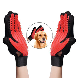 Pet Grooming Gloves Hair Remover