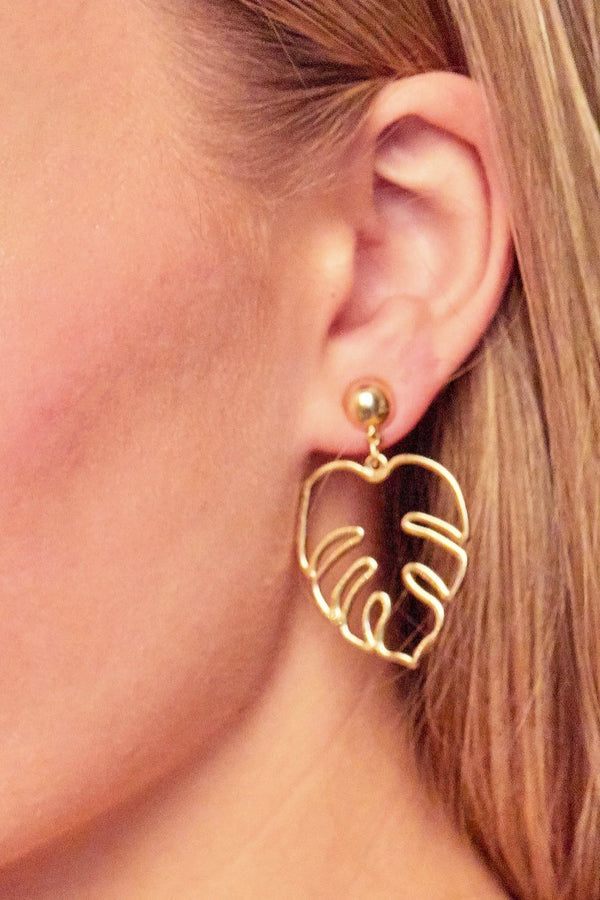 Lush Earrings | Diosa Life + Style Boutique