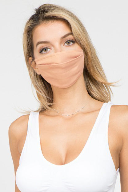 Linen Adjustable Face Mask | Diosa Life + Style Boutique