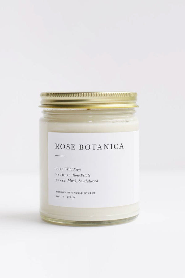 Rose Botanica Minimalist Candle | Diosa Life + Style | Online Boutique