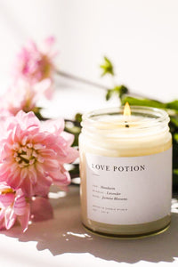 Love Potion Minimalist Candle | Diosa Life + Style | Online Boutique