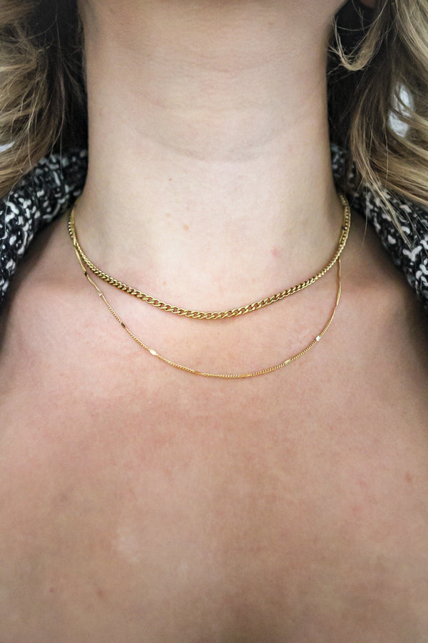 Instant Klassic Layered Chain Necklace