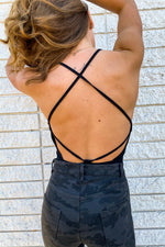 Sinclair Open Back Bodysuit