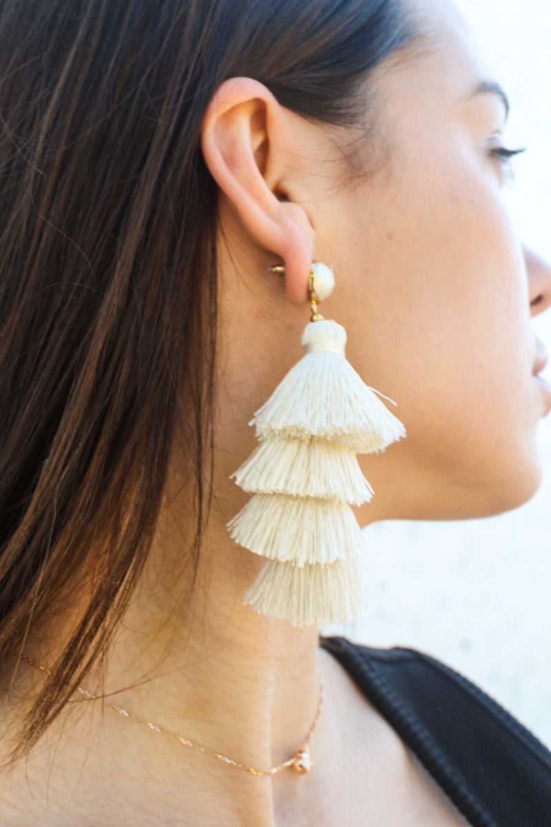 Time To Tango Tassel Earrings | Diosa Life + Style Boutique