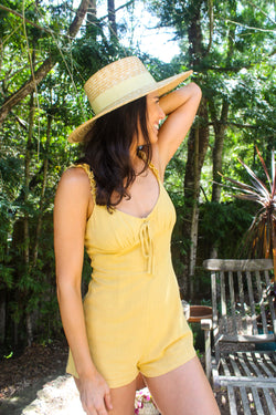 Sunforgettable Smocked Romper | Diosa Life + Style Boutique