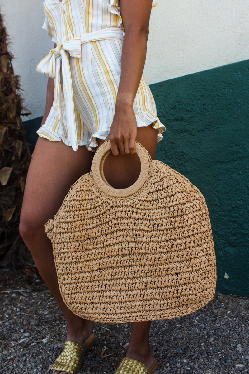 Petén Straw Tote Bag | Diosa Life + Style Boutique