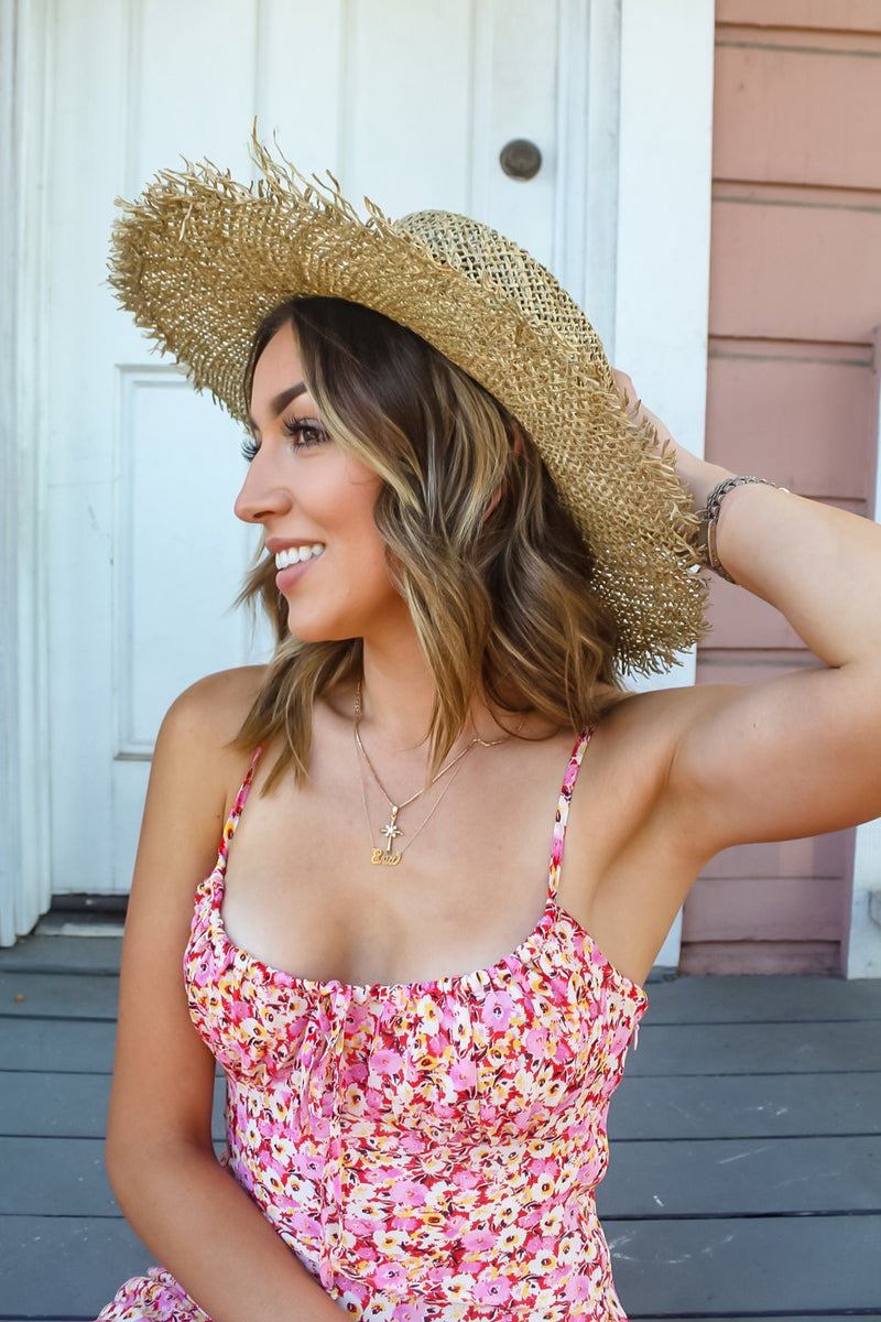 Perkins Straw Hat | Diosa Life + Style Boutique