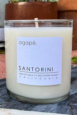 Santorini Candle | Diosa Life + Style Boutique