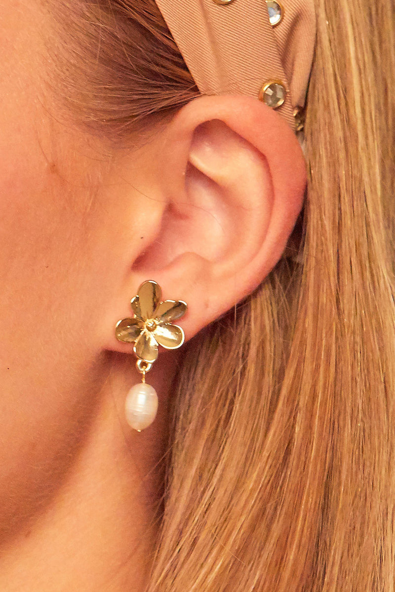 Orchid Earrings | Diosa Life + Style Boutique