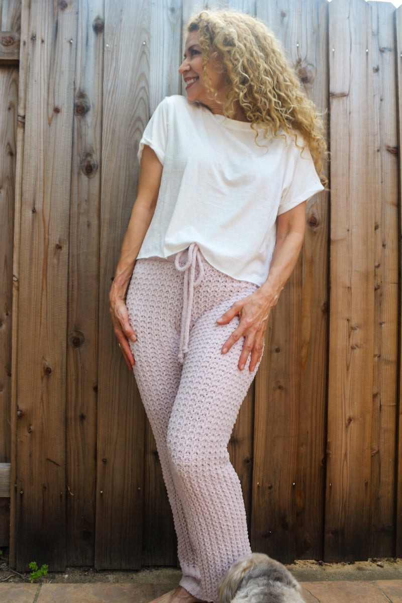 In Your Dreams Waffle Knit Sweatpants | Diosa Life + Style Boutique