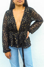 Starry Nights Long Sleeve Top