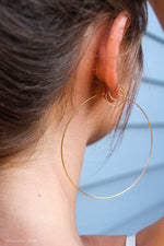 Hollaback Hoop Earrings